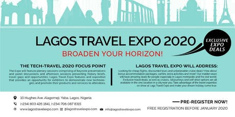Lagos Travel Expo 2020 tickets