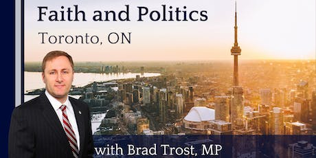 Faith and Politics - Toronto, ON tickets