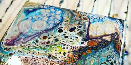 Liquid Glass Level 1; A Pouring Medium Workshop at the Farm tickets