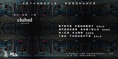 KEY+NEEDLE: Resonance tickets