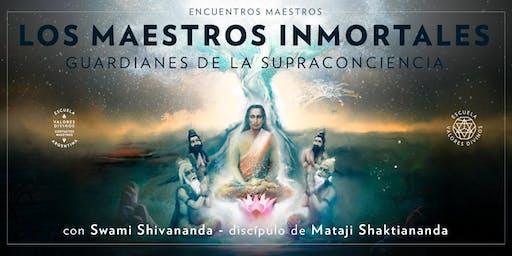 Conferencia Gratuita | LOS MAESTROS INMORTALES: Guardianes de la Supraconciencia