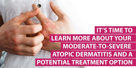 Moderate-To-Severe Atopic Dermatitis Patient Education Program (Free) tickets
