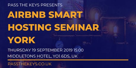 Airbnb Smart Hosting Seminar - York tickets