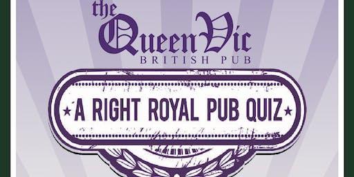 A Right Royal Pub Quiz 2019