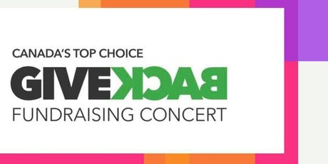 """Canada's Top Choice Give Back Fundraising Concert """"Together In The 80's"""" tickets"""