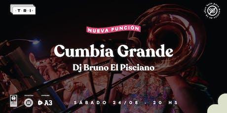 NUEVA FUNCION! Cumbia Grande en Club TRI entradas