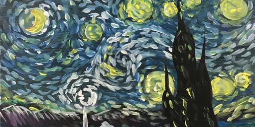 Van Gogh Paint night