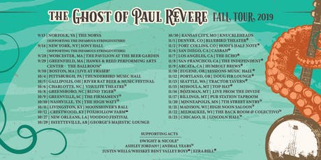 The Ghost of Paul Revere with Animal Years and More TBA tickets