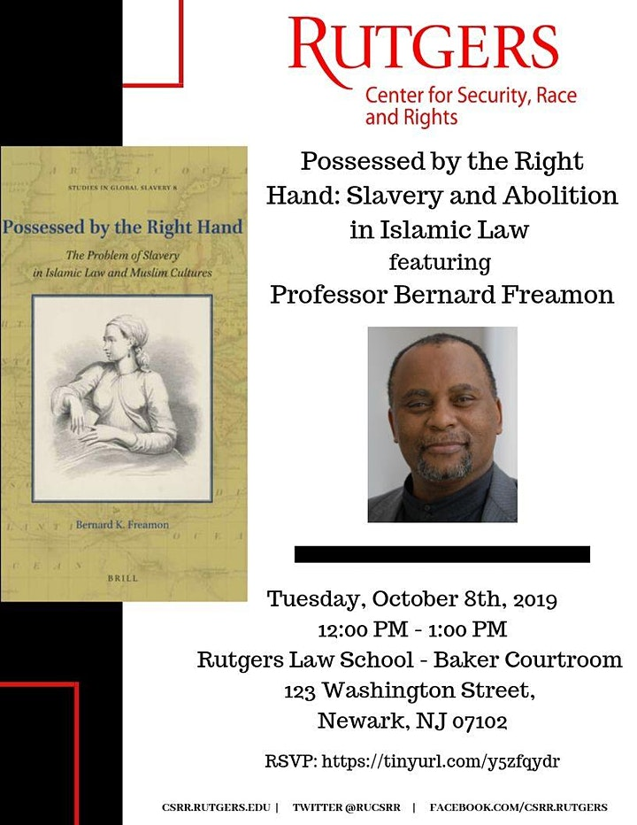Possessed by the Right Hand: Slavery and Abolition in Islamic Law image