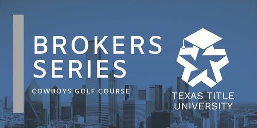 Texas Title Broker Series
