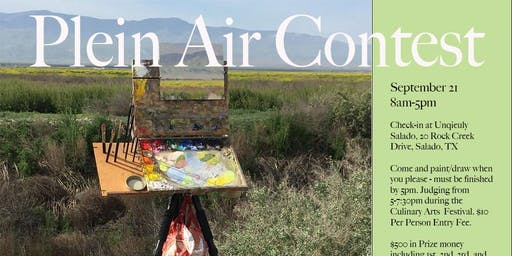 Plein Air Contest