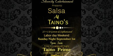 Free Labor day Weekend Salsa Night by Silver City Entertainment tickets