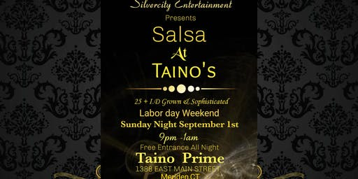 Free Labor day Weekend Salsa Night by Silver City Entertainment