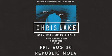 Chris Lake - Stay With Me Tour tickets