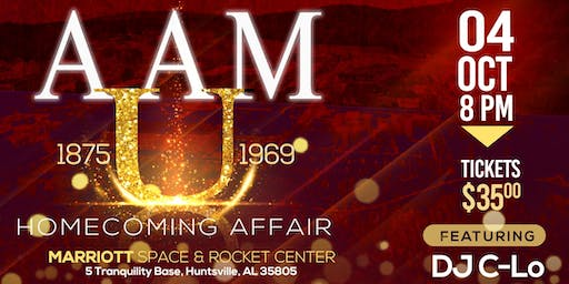 AAMU Alumni Homecoming Affair