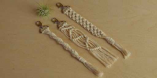 Macrame Keychains at The Camp in Costa Mesa