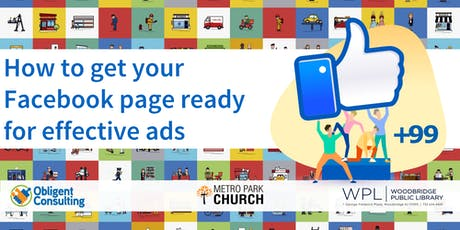 How to get your Facebook page ready for effective Ads tickets