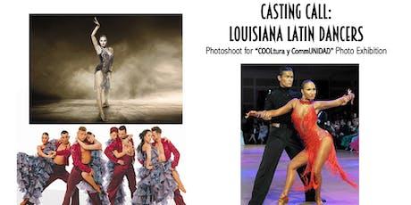 Casting Call: Louisiana Latin Dancers Photoshoot tickets