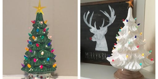 Paint-Your-Own Vintage Tree