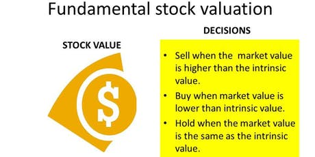 STOCK INVESTMENT  : accounting and fundamental valuation of shares  tickets