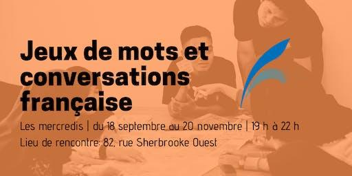 Jeux de mots et conversations française