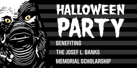 2019 Halloween Party for Josef L. Banks Memorial Scholarship tickets