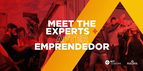 Meet the Experts + After Emprendedor entradas