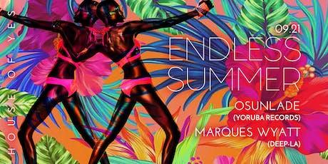 Endless Summer: Osunlade + Marques Wyatt tickets