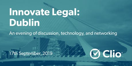 Innovate Legal: Dublin tickets