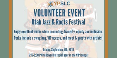 YPSLC Volunteer Event - SLC Jazz & Roots Festival
