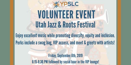 YPSLC Volunteer Event - SLC Jazz & Roots Festival tickets