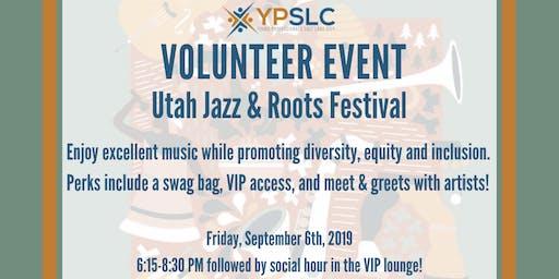 YPSLC Volunteer Event - SLC Jazz & Roots Festival