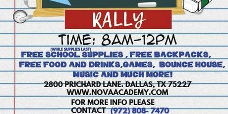 Back to School Rally tickets