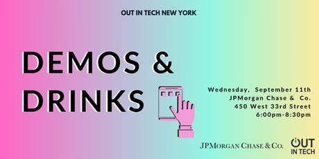 Out in Tech NY | Demos & Drinks tickets