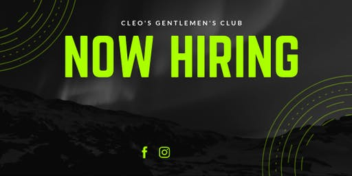 Cleo's Gentlemen's Club Job Fair