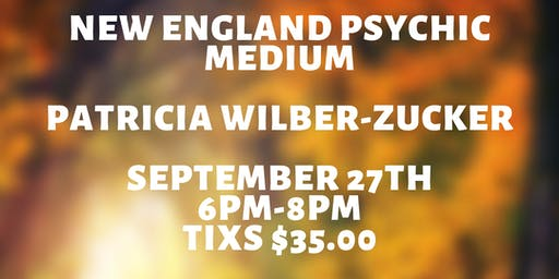 Spirit Night with Patricia Wilber Zucker