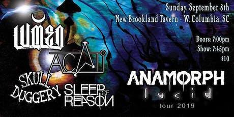 Lumen, Anamorph, Acati, Skullduggery, Sleep Of Reason, at NBT tickets