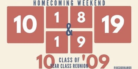 Jordan High School Class of 2009 10 Year Reunion tickets