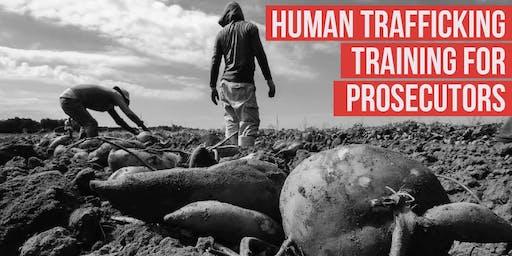 OAG Human Trafficking Training Cameron County - Prosecutors