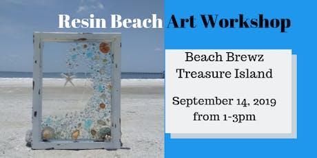 Resin Beach Art Workshop - Treasure Island tickets