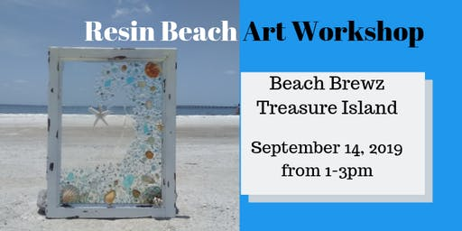 Resin Beach Art Workshop - Treasure Island