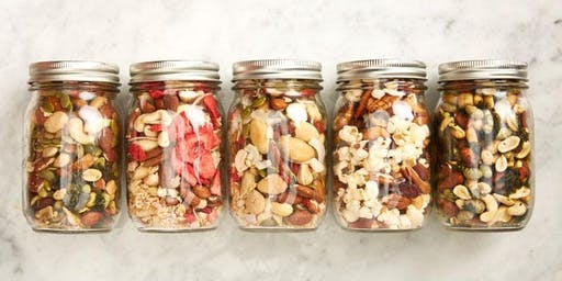 Build Your Own Healthy Trail Mix -All Ages Welcome
