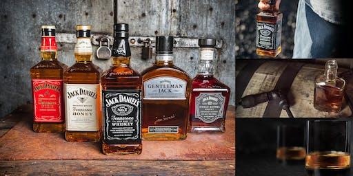Jack Daniel's Family of Brands Whiskey Tasting