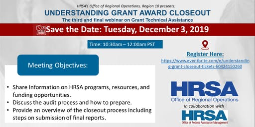 Understanding Grant Award Closeout