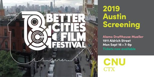 2019 ATX Screening of the Better Cities Film Festival