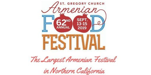 62nd Annual Armenian Food Festival