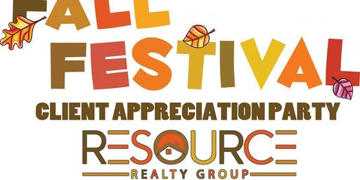 Resource Realty Group - Client Appreciation Fall Festival