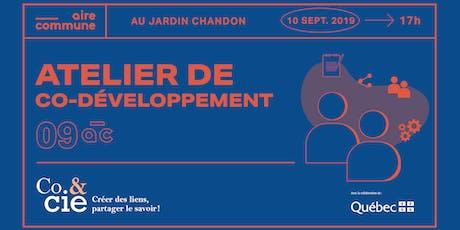 09AC | Atelier de codéveloppement : impact & innovation! billets
