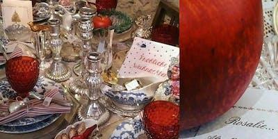 Shabby Vintage Antik Kitzingen Winter Weihnacht' Villa Sommerach byROSALIE
