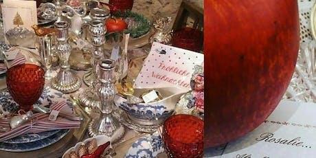 Shabby Vintage Antik Kitzingen Winter Weihnacht' Villa Sommerach byROSALIE Tickets